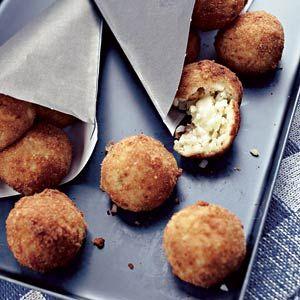 Recept - Risottoballetjes met mozzarella - Allerhande