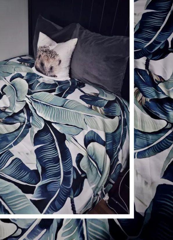 Bettbezug mit Palmendruck | Wohnen | Einrichten | Deko | Dekorieren | Schlafzimmer | Bettdecke | Bettwäsche