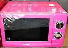 shocking Pink Microwave NEW!!!!!!