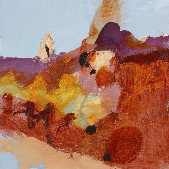 © Luke Sciberras ~ Tanami study ~ 2012 oil on board