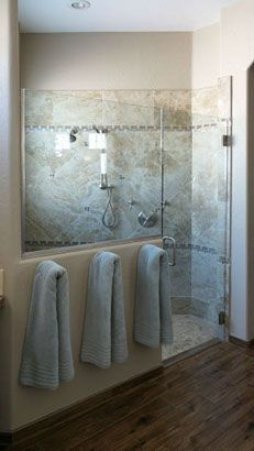 I Like The Towel Older Right Outside The Shower Bathroom Remodeling L Remodel Design Tempe