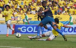 Ecuador tiene desfases defensivos, opina Jorge Barraza. Marzo 31, 2016