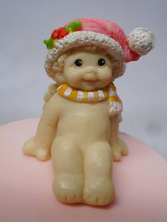 Santa Baby  Christmas Angel soap  Christmas Santa baby