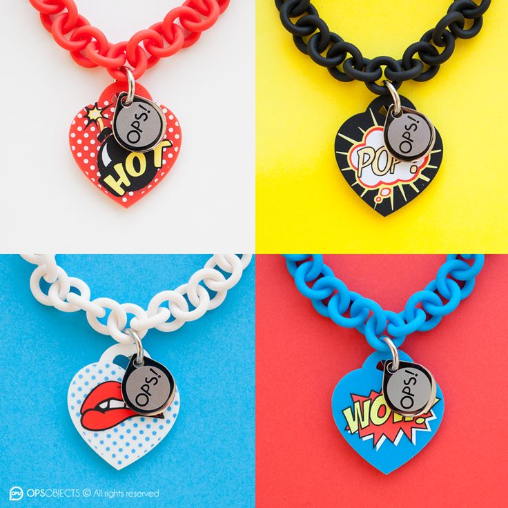 OPS OBJECTS  POP COLLECTION BRACELETS