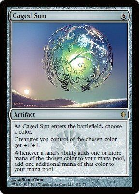 Magic: the Gathering - Caged Sun - New Phyrexia by Wizards of the Coast. $2.69…