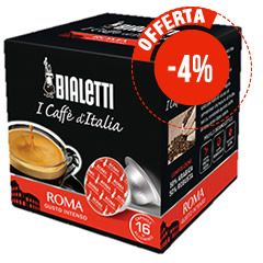 16 CAPSULE BIALETTI I CAFFÉ D'ITALIA ROMA
