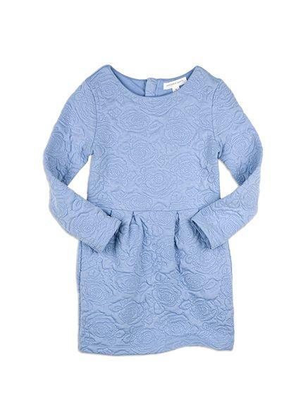 Pumpkin+Patch+-++-+rose+textured+dress+-+W5GL80033+-+blue+allure+-+5+to+12