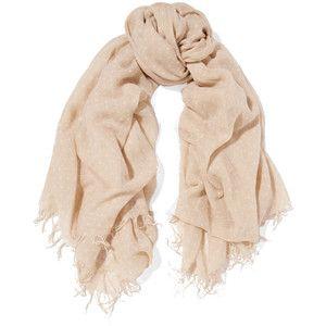 Чан Луу горошек кашемир и шелк-смесь шарф