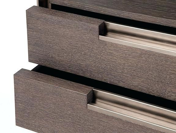 Drawer Pulls Recessed Cabinet