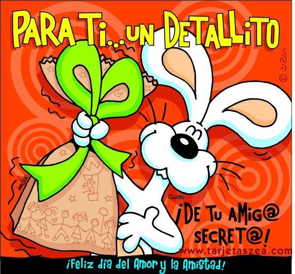Pin De Saul En Juguetes Didacticos Tarjeta Amigo Secreto