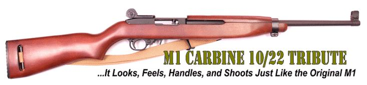 M1 Carbine Ruger 10/22 Tribute Kit
