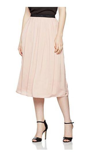 Falda Rosa Calvin Klein #Amazonmoda #Modamujer #Moda2017/2018 #Falda #Outfit #fashion #Shopping #Pink