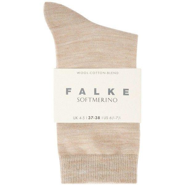 Falke Soft Merino Wool Blend Socks - Size 3 ($17) ❤ liked on Polyvore featuring intimates, hosiery, socks, falke, falke hosiery, merino wool blend socks and falke socks