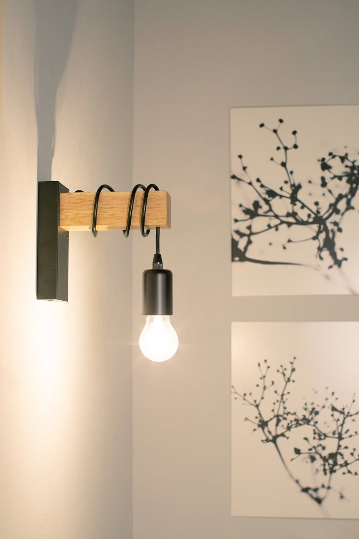 Leroymerlin Leroymerlinpolska Dlabohaterowdomu Domoweinspiracje Salon Lampa Kinkiet Wall Lights Eglo Decor