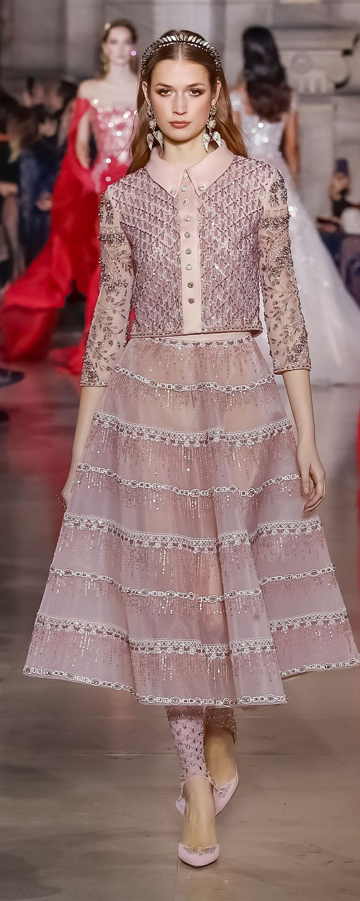 Georges Hobeika S/S 2018, official pictures - Couture - http://www.orientpalms.com/Georges-Hobeika-7017
