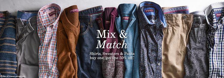Men's Perfect Fit Shirts │Johnston & Murphy | Johnston & Murphy