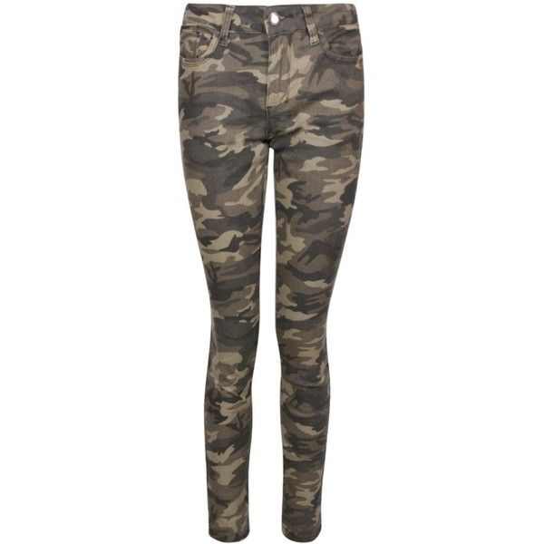 Sofia Jean Skinny Imprimé Camouflage ($38) found on Polyvore featuring women's fashion, jeans, bottoms, pants, slim fit jeans, camouflage skinny jeans, skinny jeans, brown slim jeans and camo print skinny jeans