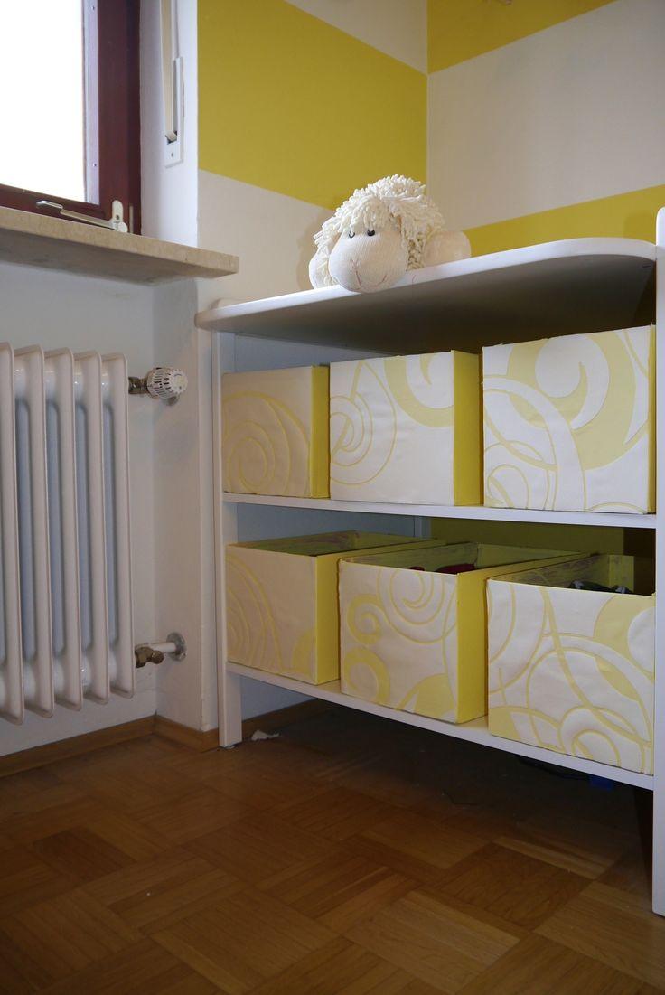 Aufbewahrungsboxen aus Windelschachteln oder Karton basteln   woont - love your home