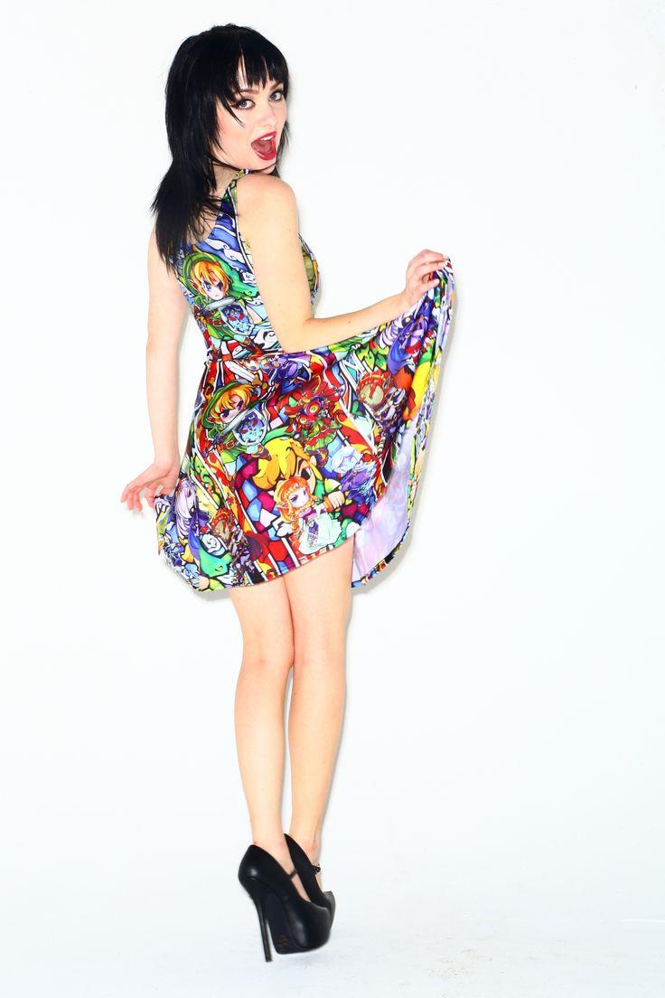 Chibi Zelda skater dress