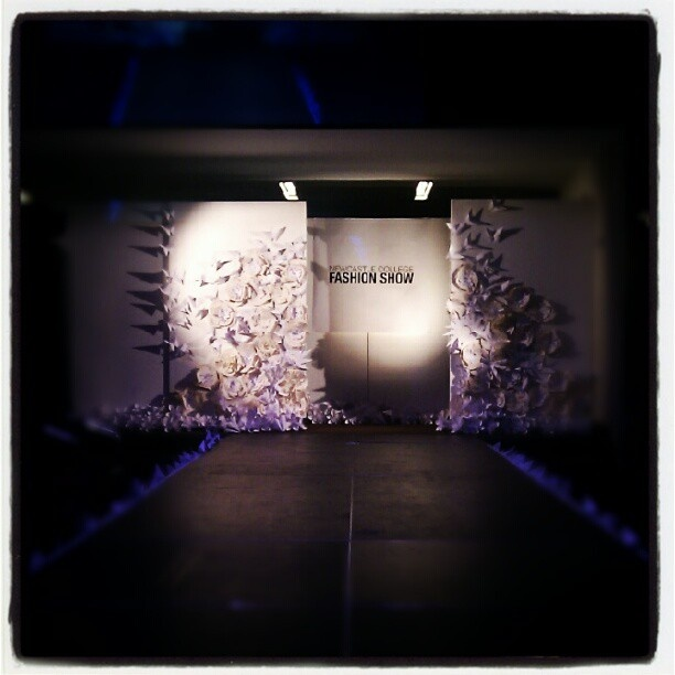 Newcastle College Fashion Show - HE Creative Industries Final Shows.