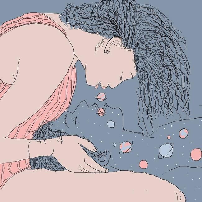 Mısırlı Çizerden Bir Kadının Aşka Bakış Acısını Anlatan 20+ İllüstrasyon Sanatlı Bi Blog 5