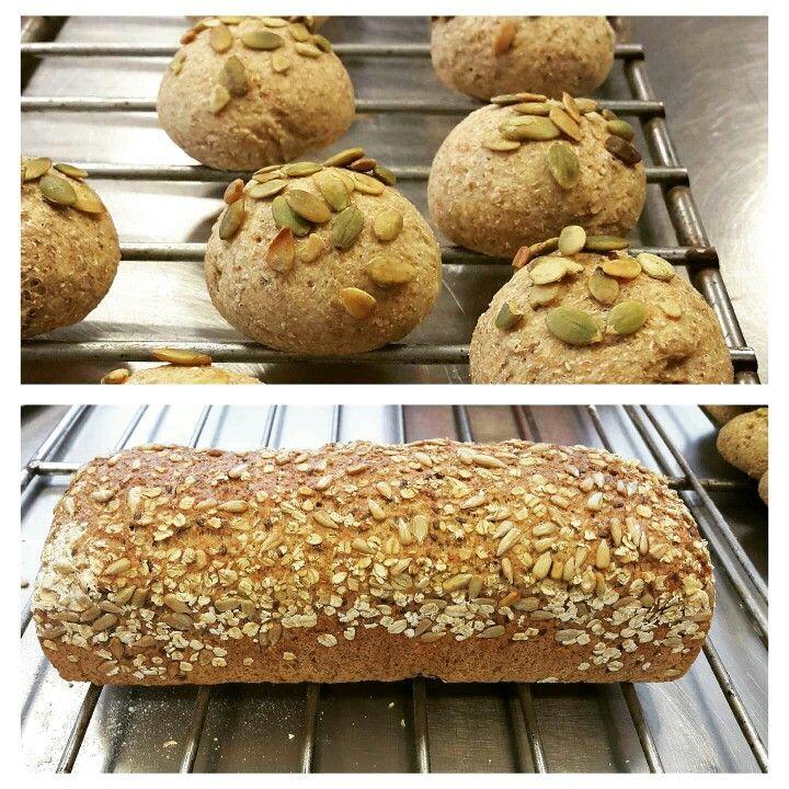 ♡ Pan de semillas avena y calabaza.