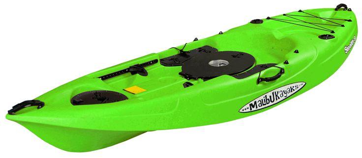 Stealth-9-Fishing-Kayak-Lime-Angle-View
