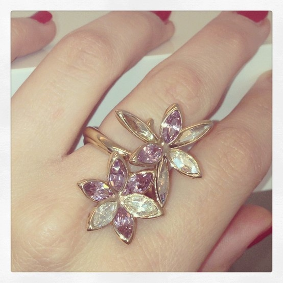 Petal power! A palette of pastel crystal perfect for Spring. Stefano Poletti for Atelier Swarovski.