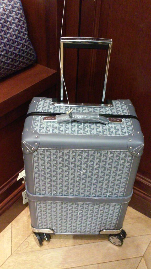 Goyard Trolley in Grey   Goyard bag, Goyard luggage