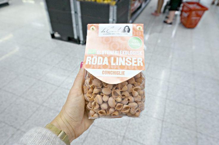 Pasta laget av Røde Linser