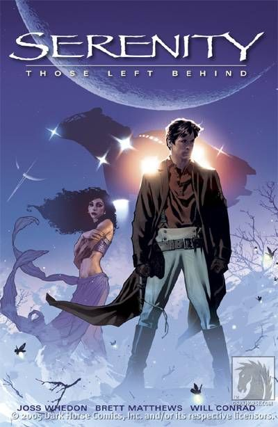 Serenity - Those Left Behind - Dark Horse TPB cover