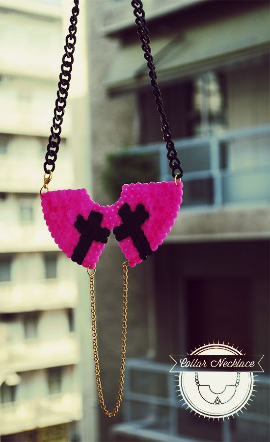 Funky Holy Cross Collar Necklace