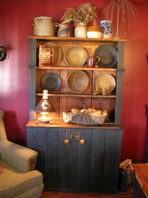 A Primitive Place Colonial Inspired Dining Rooms