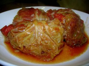 Polish Cabbage Rolls-Golabki.  I think this is the one. I will let you know how they turn out.