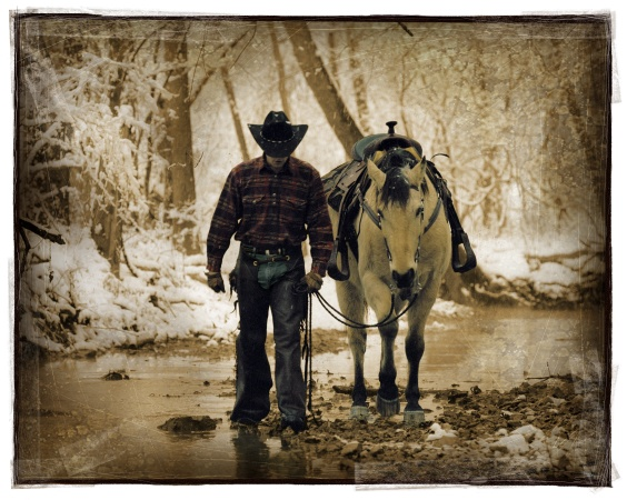 Pals. Artwork provided by Western Heritage Awards James Nava.
