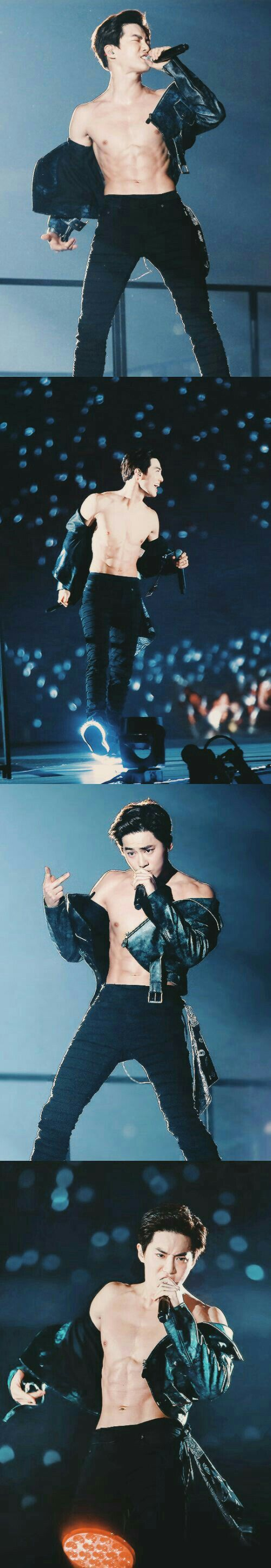 our sexy, handsome and talented leader Kim Junmyeon<3