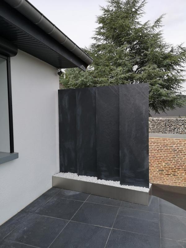 Panneau Ardoise Plein L 50 X H 200 Cm Noir Leroy Merlin Idee Deco Exterieur Deco Exterieure Brise Vue Decoratif
