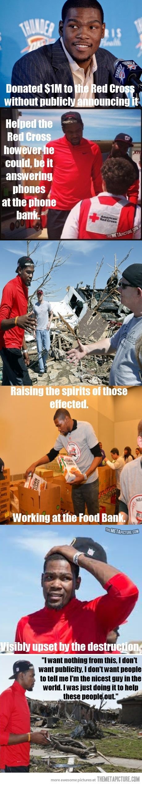 Good guy Kevin Durant helping after the Moore Tornado…love me some KD!!