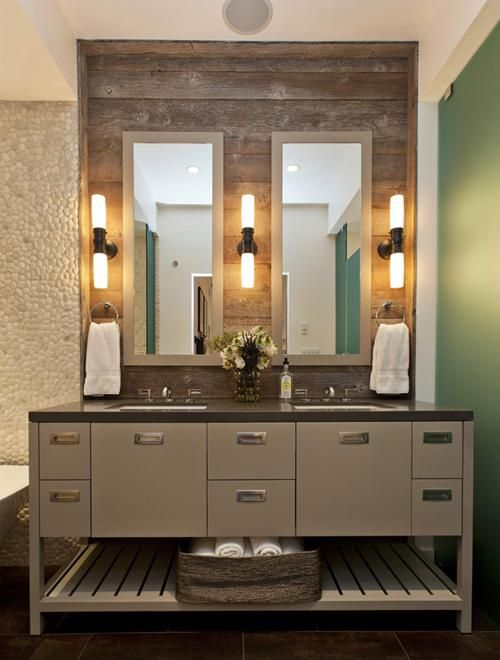decor reclaimed wood mirrors2 HomeSpirations