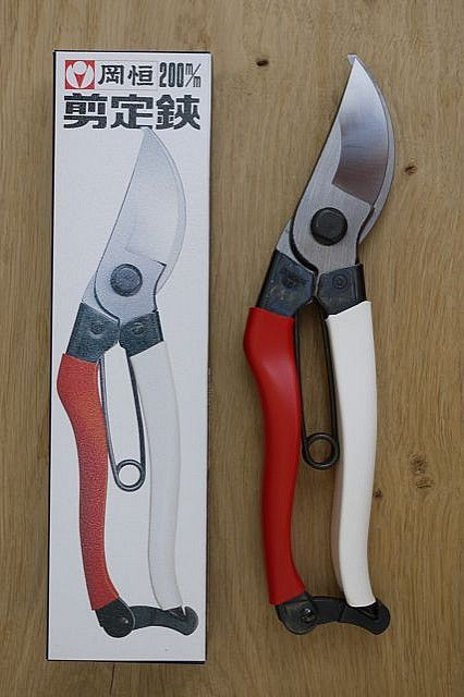 Okatsune Secateurs - fantastic tool, just watch the catch at the bottom, can be a bit snappy!