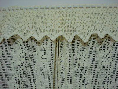 crochê, bordados e outros babados: Gráfico da cortina
