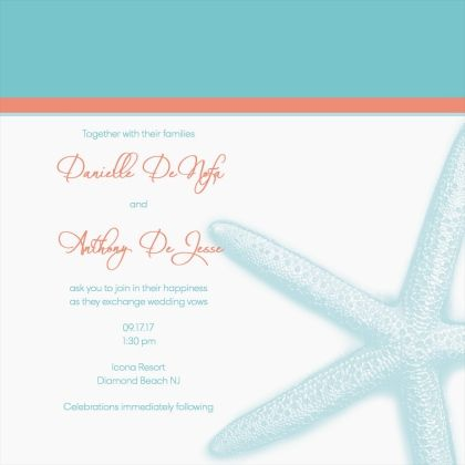 Check out my Square Wedding Invitation I designed from MagnetStreet