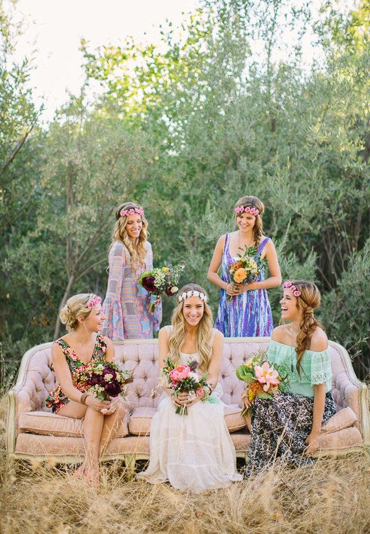 Boho wedding inspiration , Love this but with my twist .. Cute I think this is so cute! I Love Blond Girls These are Beaut i ful
