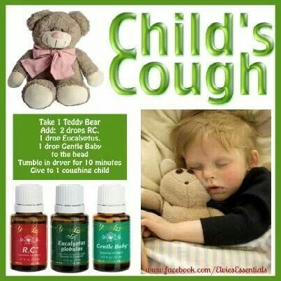 Essential Oil Help: Child's cough ~ RC,  Eucalyptus,  Gentle Baby