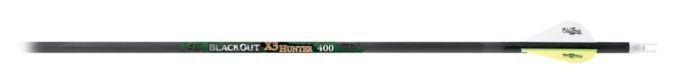 "RedHead® BlackOut® X3 Hunter Carbon Arrows - 2"" HP Vanes"