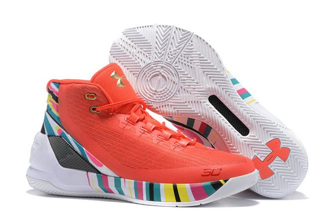 2017-2018 Sale UA Curry 3 Wholesale UA Stephen Curry 3 Christmas Basketball Shoe For Sale