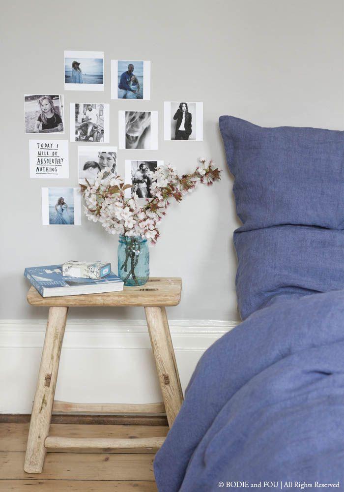 Linen duvet cover 220 x 240 cm, Summer Blue — Bodie and Fou - Award-winning inspiring concept store