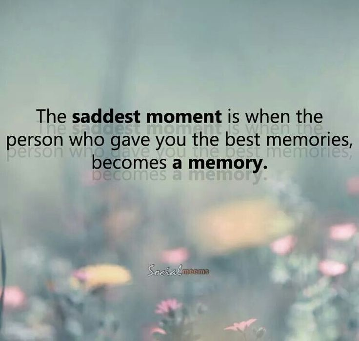 Don't let memories stay memories--make them live again.