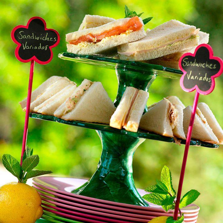 Sándwiches variados                                                                                                                                                                                 Más