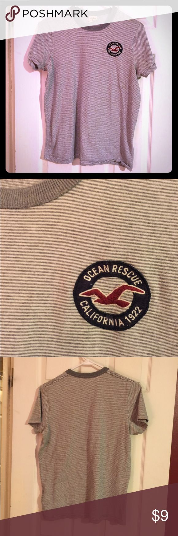 Hollister Ocean Rescue T-Shirt Gently loved, in nice condition Hollister t-Shirt for a man or woman. Hollister Shirts Tees - Short Sleeve